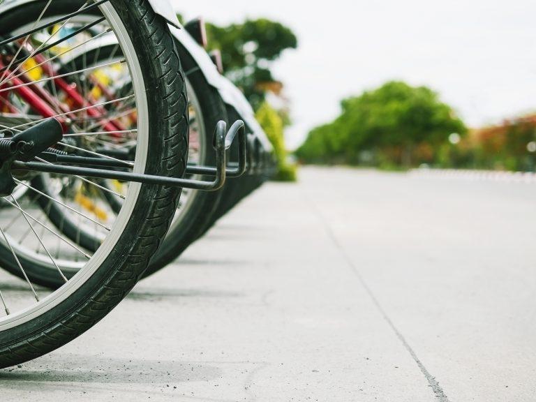 vélos garés